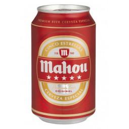 cerveza mahou 5 estrellas 33 cl
