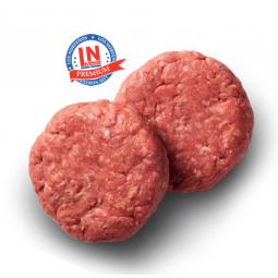 hamburguesa de ternera fresca