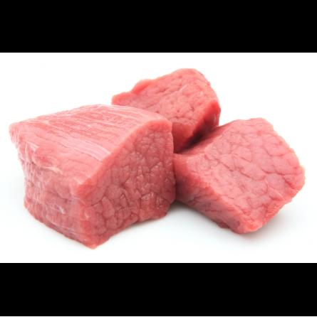 magro de cerdo duroc troceado